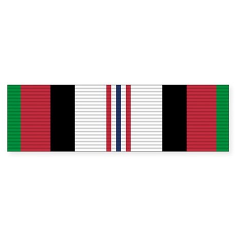 Afghanistan Campaign Medal Sticker (Bumper)