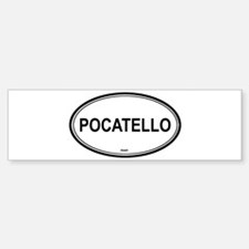 Pocatello (Idaho) Bumper Bumper Bumper Sticker