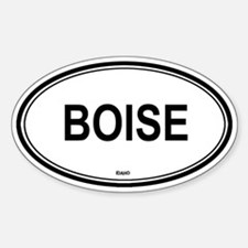 Boise (Idaho) Oval Decal