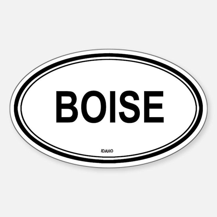 Boise (Idaho) Oval Decal