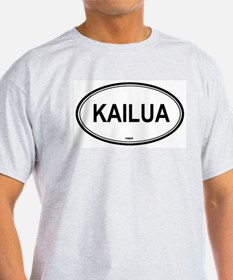 Kailua (Hawaii) Ash Grey T-Shirt