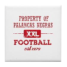 Property of Angolan Soccer Tile Coaster