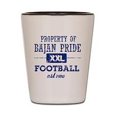 Property of Barbados Soccer Shot Glass