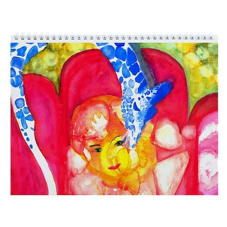 Emotion in Watercolors Wall Calendar