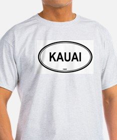 Kauai (Hawaii) Ash Grey T-Shirt