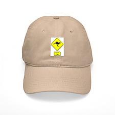 Kangaroos Road Sign Baseball Cap