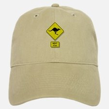 Kangaroos Road Sign Cap