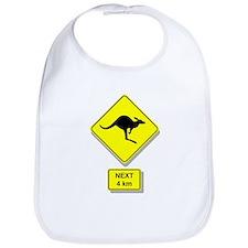 Kangaroos Road Sign Bib