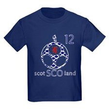 scotland football fans design 12 T