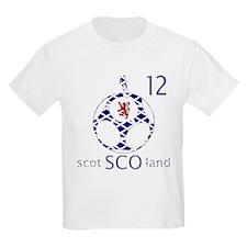 scotland football fans design 12 T-Shirt