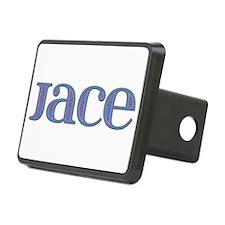 Jace Blue Glass Hitch Cover