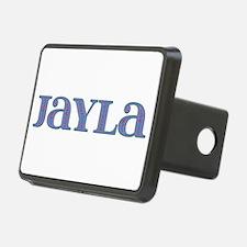 Jayla Blue Glass Hitch Cover