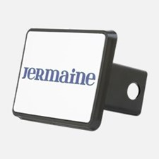 Jermaine Blue Glass Hitch Cover