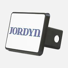 Jordyn Blue Glass Hitch Cover