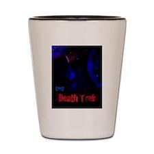 Death Trek Poster Shot Glass