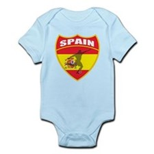Spain World Cup Soccer Infant Bodysuit