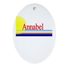 Annabel Oval Ornament