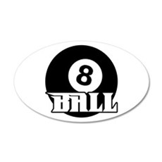 8 Ball Wall Decal