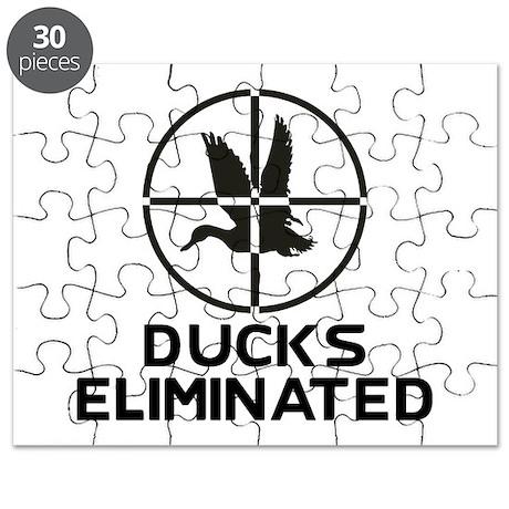 Ducks Eliminated Puzzle