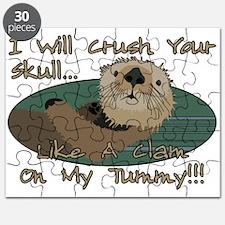 Otter Skull Crush Puzzle