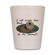 Otter Skull Crush Shot Glass