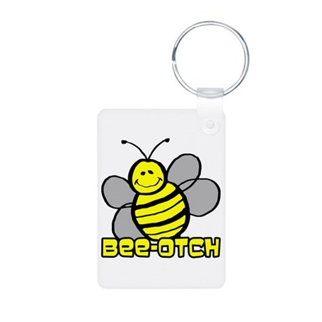 Beeotch Aluminum Photo Keychain