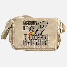 Rocket Scientist Messenger Bag