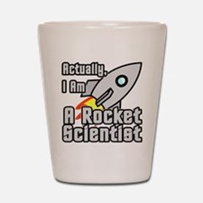 Rocket Scientist Shot Glass