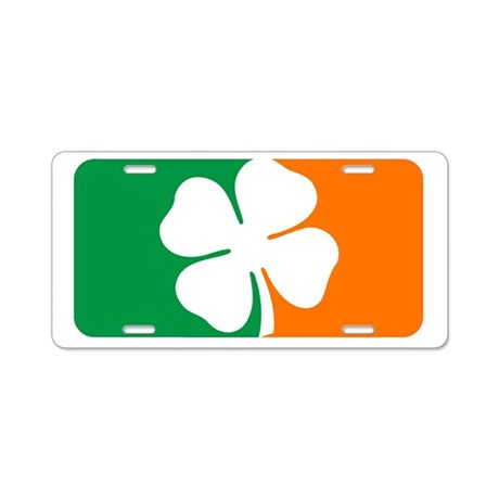 Major League Irish Aluminum License Plate