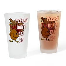 Eat Turkey Drinking Glass