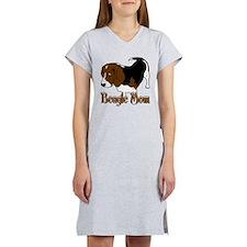 Beagle Mom Women's Nightshirt