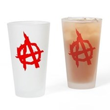 Anarchy Drinking Glass