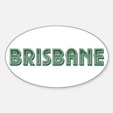 Brisbane Sticker (Oval)