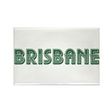 Brisbane Rectangle Magnet