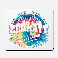 Zermatt Old Circle Mousepad
