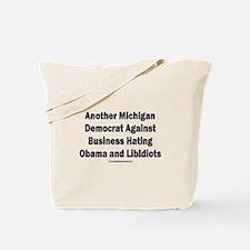 Michigan Democrat - Tote Bag