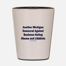 Michigan Democrat - Shot Glass