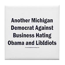 Michigan Democrat - Tile Coaster
