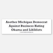 Michigan Democrat - Bumper Bumper Sticker