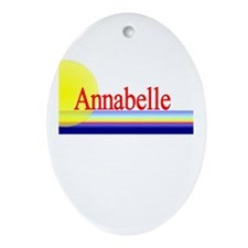 Annabelle Oval Ornament
