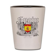 Spain World Cup Soccer Shot Glass