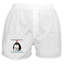 Homeschool Love Boxer Shorts