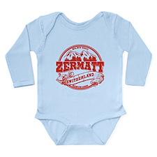 Zermatt Old Circle Long Sleeve Infant Bodysuit