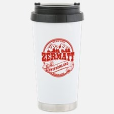 Zermatt Old Circle Stainless Steel Travel Mug