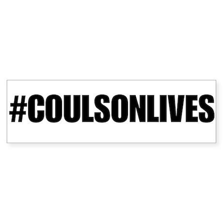 Coulson Lives Bumper Sticker 2 Sticker (Bumper)
