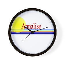 Annalise Wall Clock