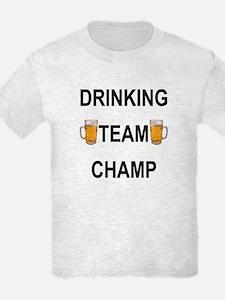 Drinking team champ T-Shirt