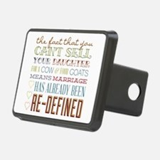 Marriage Re-Defined Hitch Cover
