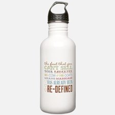 Marriage Re-Defined Water Bottle