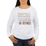 Marriage Re-Defined Women's Long Sleeve T-Shirt